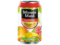 Pak 24 blikjes Minute Maid tropical 33 cl