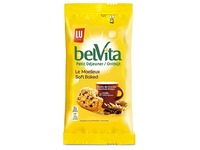 Biscuit Belvita Moelleux with chocolate chips - pocket size 50 g