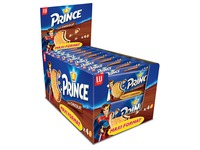 Biscuits Prince chocolate x 4 - pocket size 80 g