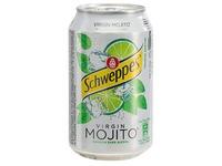 Schweppes Mojito - een doos met 24 blikjes van 33 cl