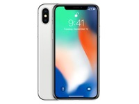 Apple iPhone X - zilver - 4G LTE, LTE Advanced - 256 GB - GSM - smartphone