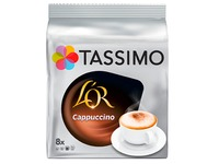 Coffee capsules Tassimo Cappuccino L'Or - pack of 8