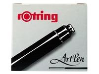 EN_ROTRING 6CART.ENCR.ARTPEN NOIR