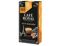 Capsules de café Café Royal Petit Déjeuner - Boîte de 10