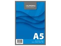 Notepad Aurora A5 148 x 210 mm plain 100 sheets