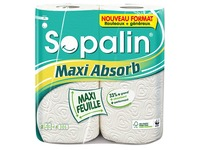Wiper rolls Sopalin Maxi Absorb - pack of 2