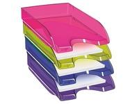 Set 4 translucid postal sorting trays Cep Tendance assortment