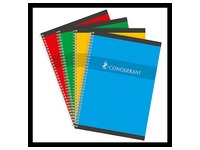 Notebook spiral binding Conquérant Sept 21 x 29,7 cm large squares 100 pages