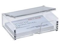 Boîte à cartes de visite Sigel VA112 90x55mm translucide