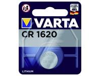 Pile bouton Varta CR1620  lithium blister 1pc
