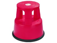 Tabouret Desq 42cm plastique rouge