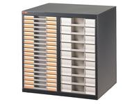 Pack 2 columns + 27 drawers Clen