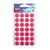 stickers labels rond markeren gekleurd aanduiden