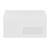 witte omslag met venster amerikaans formaat