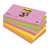post it gekleurde post it  pastelkleurige post-it